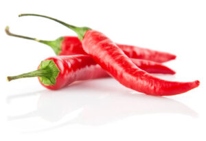 red chilli peppers